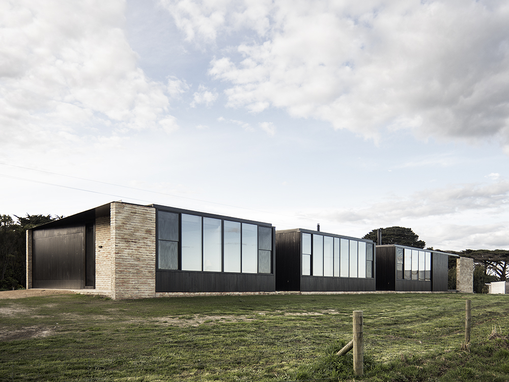 Up Fish Creek - Architecture