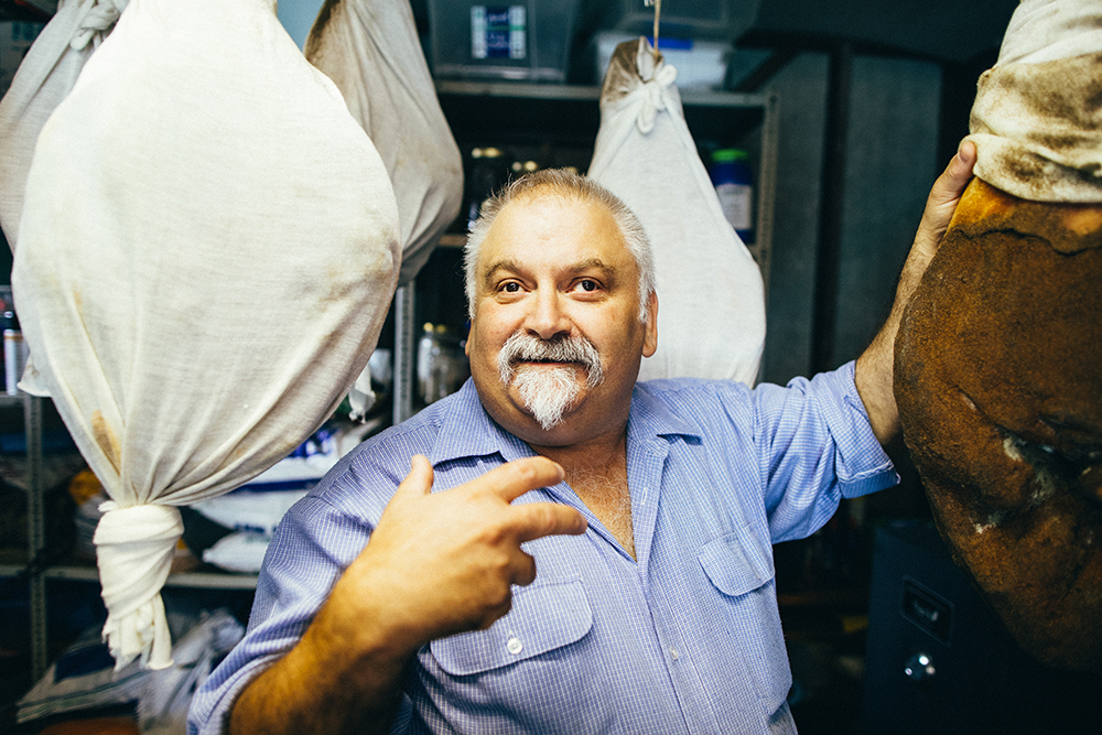 Me, meat and meeting Tony Teresi - People