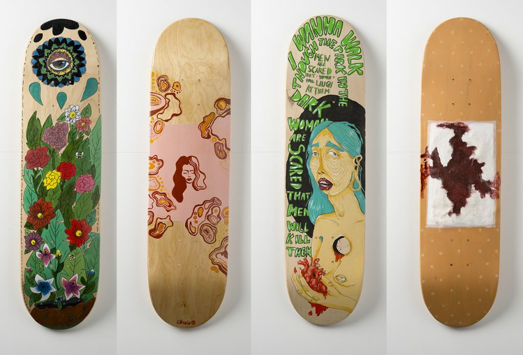 Gippslandia #8 - Events Department - On Board Skate Deck Art Competition.