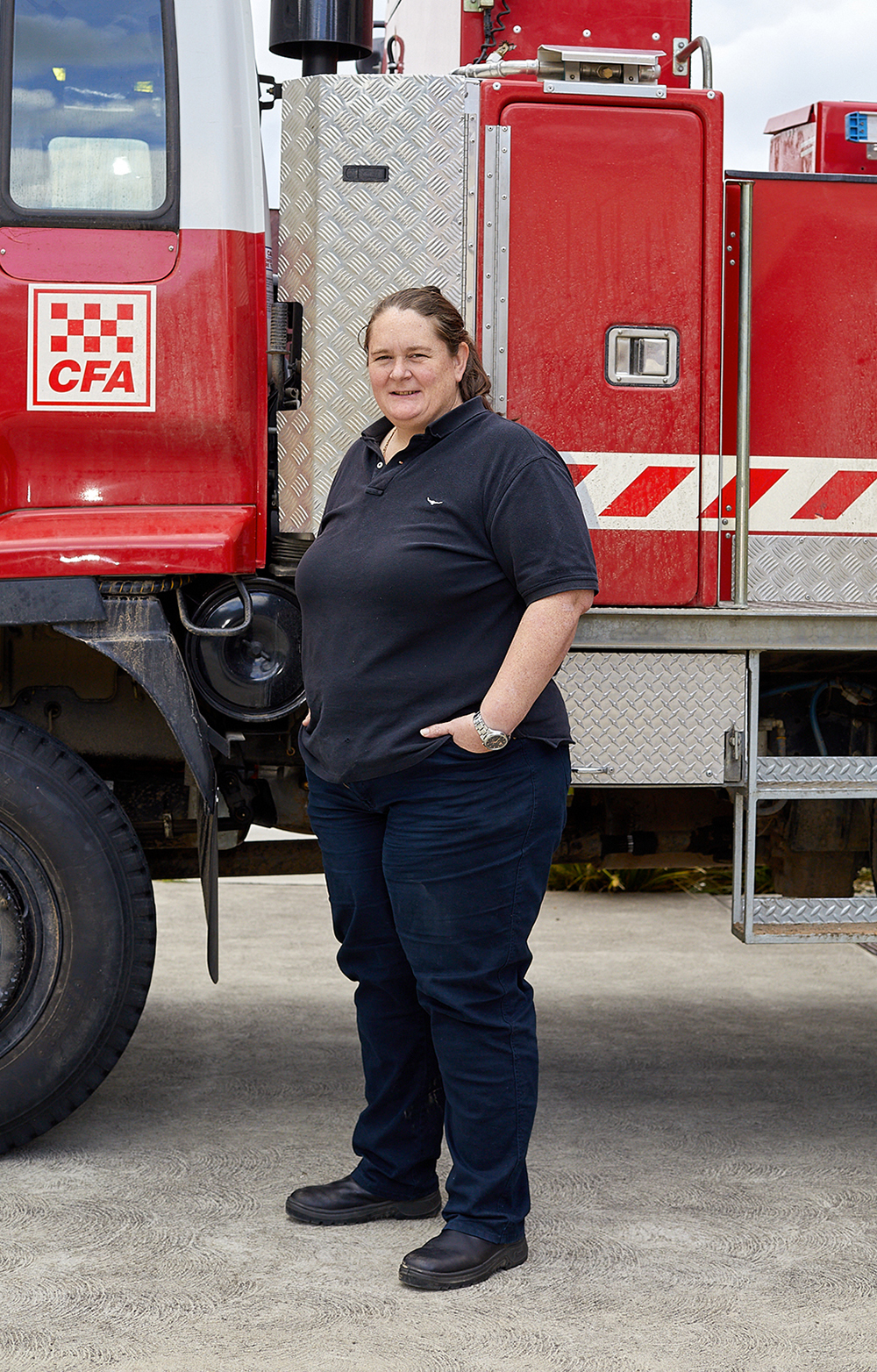 Kate Hodge, CFA volunteer. Portrait Photography // Peter Plozza